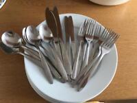Plate & cutlery starter oack