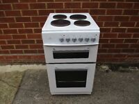 Electric Cooker, 50cm wide 9 Months old double fan oven ,, Ovens/Grill never been used