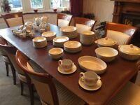 Denby dinner service - Tivoli pattern