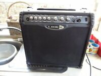 Line 6 , 30 watt guitar amplifier