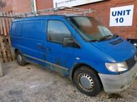 Mercedes vito2002 cd110 breaking for parts
