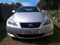 Lexus IS 2.2 Diesel In Very Good Condition Call on this number 07576111939