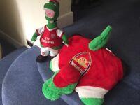 Arsenal soft toys
