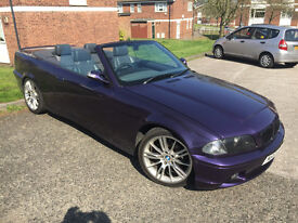 BMW 320 Convertible Tuning E46 Front & E36 Back. Seats & Roof Refubrished. Must See!!!!