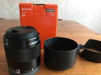Sony 50 mm F/1.8 E Lens for Sony E-mount, SEL50F18