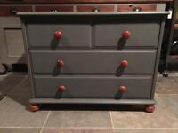 Pine Chest Of Drawers With 4 Drawers