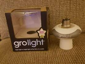 Gro night light. Baby nursery.