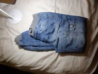 boys airwalk jeans with ribbed waistline size 30R