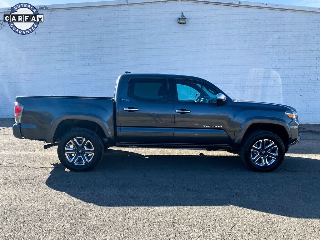 2016 Toyota Tacoma Limited 4D Double Cab V6 6-Speed Automatic Magnetic Gray Meta
