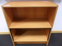 FREE - Wooden Office Cabinet with 1/2 Roller Door & Ikea Billy Bookcase with no Shelves