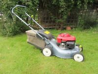 "Honda 16"" rotary lawnmower for sale, two careful owners (!)."