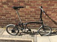 Brompton S2L Folding Bike