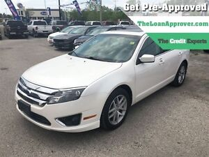 2010 Ford Fusion SEL 3.0L V6 * AWD * LEATHER * POWER ROOF London Ontario image 1