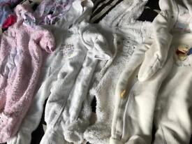 Baby winter clothes 1-6 months