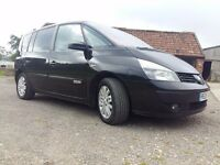 2005 renault espace 1.9dci 7 seat new mot low milage