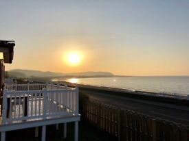 Static Caravan with Sea views including decking and 2018 running costs
