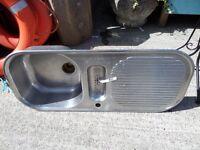 Single Drainer Stainless Steel Kitchen Sink