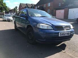 Vauxhall Astra 1.6 - 2002 - MOT&TAX - drives mint - bargain - not kia vectra opel mondeoq