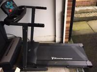 V-fit Treadmill, Motorised and Foldable