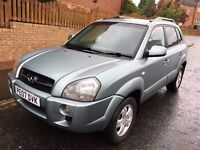 Hyundai Tucson 2.0 CRTD Limited Edition Station Wagon 4WD 07 Plate 85,000 Miles