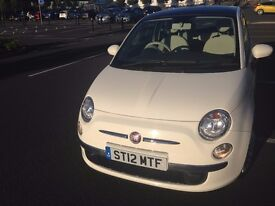 Rare Fiat 500 Automatic - 1 lady owner since new. - MOT June 2017