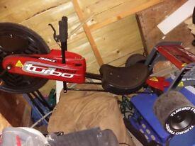 Turbo twist go-cart
