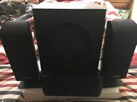 Panasonic Home Theatre Speaker system SC-BT100 for Blu Ray DVD(Not Included) Incl Kelton Subwoofer