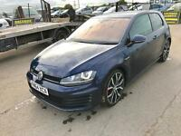 2015 VW GOLF GTD 2.0 DSG AUTO UNRECORDED FULLY LOADED
