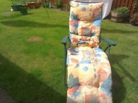 Colourful Sunlounger
