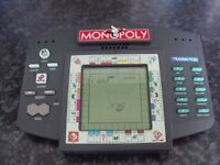 Retro Handheld Electronic Monopoly Game By Hasbro (1999) - Fully Working