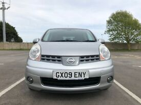 Nissan Note 1.6 16v Tekna 5dr £3195p/x Lovely reliable car 2009 (09 reg),82,000 miles Manual