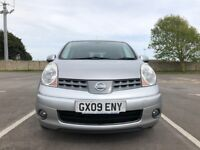 Nissan Note 1.6 16v Tekna 5dr £2795p/x Lovely reliable car 2009 (09 reg),82,000 miles Manual