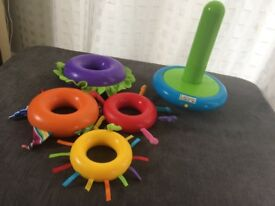 Lamaze stacking rings (ring stacker) - pre-owned