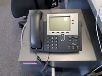 5 Cisco IP Phone 7940 with stand