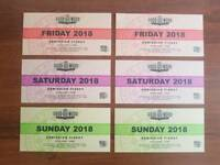 6 Goodwood Revival 2018 Weekend Tickets