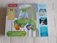 Fisher Price Rainforest Grow-With-Me Projection Cot Mobile