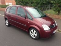 55 REG VAUXHALL MERIVA 1.7 CDTI FULL 12 MTH MOT DRIVES PERFECT