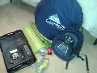 CAMPING EQUIPMENT JOB LOT - FOR QUICK SALE £25