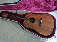 Martin DXK2AE Hawaiian Koa - Excellent Condition inc Hiscox hard case
