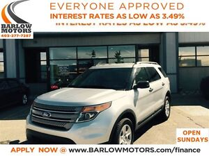 2013 Ford Explorer 4WD/LOW KM/BLUETOOTH**OPEN 7 DAYS A WEEK**