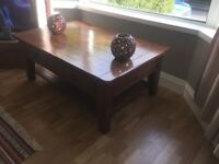 Reclaimed pine coffee table