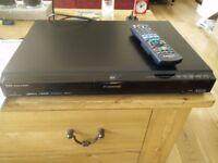 Panasonic DMR-EX77 dual DVD recorder and TV hard disc recorder