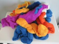 155g Merino Wool for Felt making/Crafting in a mixture of colours £5