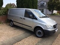 Mercedes Benz VITO VAN Silver 109 CDI LONG milage 31657 Diesel Year 2009 95 plate
