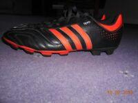 Football shoes.