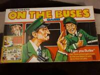Vintage On the buses board game
