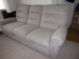 Eastbourne 3 seater Sofa, 1,5 old only, excellent condition for sale