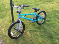 Blank stunt bike £350 when new looking for £120 also mountain bike £75 both perfect con