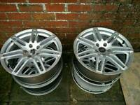 Audi alloys rs4 rs6 5x112 b6 b7 b8 golf leon a4 a6