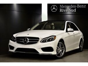 2016 Mercedes-Benz E-Class E400 4MATIC, Camera 360, Toit Panoram